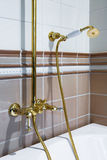 Bronze faucet Royalty Free Stock Image