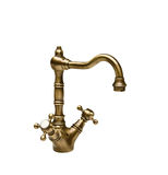 Bronze faucet Royalty Free Stock Photo