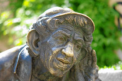 Bronze figure. stock images