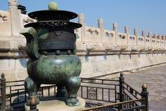 Bronze of Forbidden City Royalty Free Stock Photos
