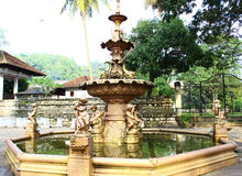 Bronze fountain in Kandy Stock Images
