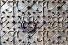 Bronze gate Stock Images