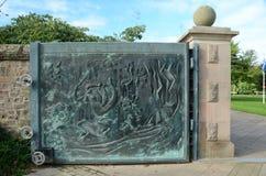 Bronze Gate Royalty Free Stock Photos