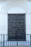 Bronze gates of St. Sophia Cathedral Stock Photos
