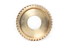 Bronze gear Stock Images