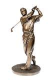 Golfer statue Stock Image