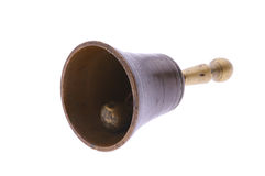 Bronze hand bell Stock Photo