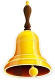 Bronze handbell Stock Image