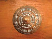 Bronze handle Royalty Free Stock Photos