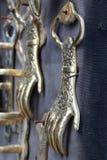 Bronze hands Royalty Free Stock Image