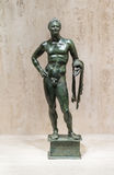 Bronze-Heracles-Statue Stockbild