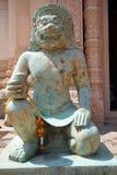 Bronze hindu god Royalty Free Stock Image