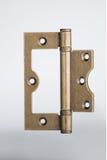 Bronze hinge. Isolation on a white background royalty free stock photography