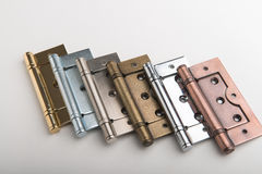 Bronze hinge Stock Photography