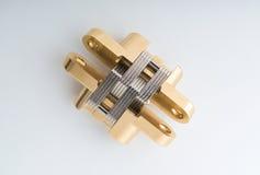 Bronze hinge Royalty Free Stock Photography