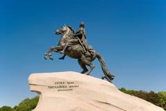 Bronze Horseman. Russia, Sankt-Petersburg, Sunny summer day Royalty Free Stock Photos