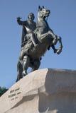 Bronze Horseman Stock Photography
