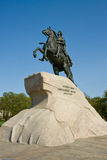 The Bronze Horseman Stock Images