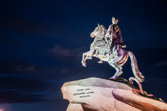 The Bronze Horseman Royalty Free Stock Image