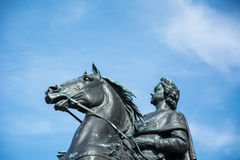 The Bronze Horseman - Monument of Peter , The first Russian empe Royalty Free Stock Photo