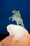 Bronze Horseman monument, Saint Petersburg, Russia Stock Photo