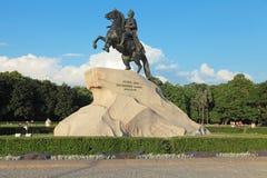 Bronze Horseman Royalty Free Stock Photos