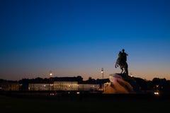 Медный всадник/The Bronze Horseman Stock Photo