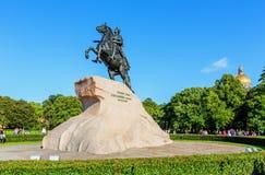 The Bronze Horseman. Saint Petersburg Royalty Free Stock Photo