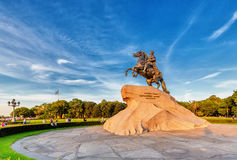 The Bronze Horseman. Saint Petersburg Royalty Free Stock Photos