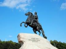 The Bronze Horseman. Saint-Petersburg, Russia Royalty Free Stock Photo