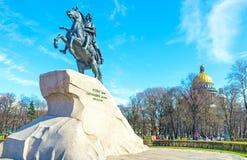 The Bronze Horseman Royalty Free Stock Image
