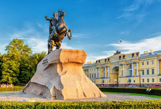 The Bronze Horseman. Saint Petersburg. Russia Stock Photography