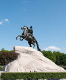 Bronze Horseman. St Petersburg, Russia. Royalty Free Stock Photo