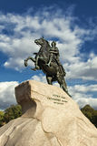 Bronze Horseman, St. Petersburg , Russia. Peter the Great monument, the Bronze Horseman, St. Petersburg Russia Royalty Free Stock Image