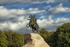 Bronze Horseman, St. Petersburg , Russia Royalty Free Stock Images
