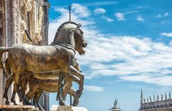 Free Bronze Horses Of The Basilica Di San Marco, Venice Royalty Free Stock Photos - 108148398