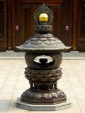 A bronze incense burner Stock Photo