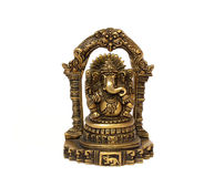 Bronze indian god ganesh Stock Images