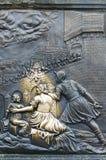 bronze john nepomukst Arkivfoto