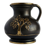 Bronze jug Stock Photo