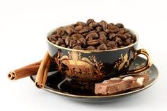bronze kaffekorn Royaltyfri Fotografi