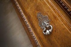 Bronze knocker Royalty Free Stock Photos