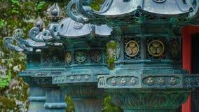 Bronze lantern Stock Images