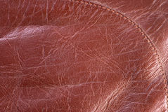 Bronze leather Royalty Free Stock Image