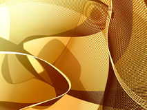 Bronze lines background Stock Image