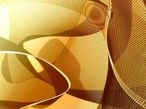 Bronze lines background stock image