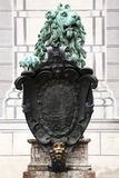 Bronze lion at Residenz Munich Stock Photo