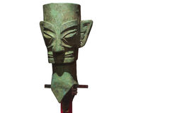 Bronze Mask Royalty Free Stock Photography