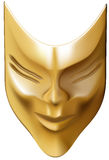 Bronze-mask Royalty Free Stock Photography