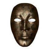 Bronze mask Stock Photos